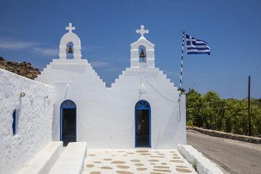 GR08368 Greek Orthodox chapel, Mykonos, Cyclade Islands, Greece