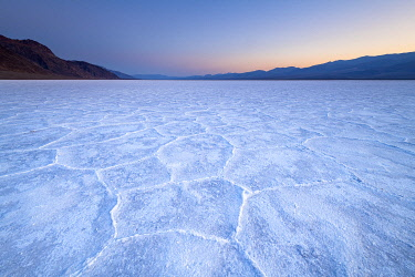 USA14542AWRF Salt flats in Death Valley National park, California, USA