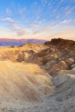 USA14544AWRF Zabriskie Point, Death Valley National Park, California, USA