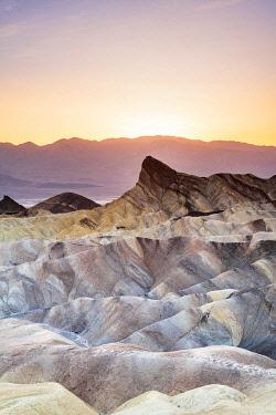 USA14539AW Zabriskie Point, Death Valley National Park, California, USA