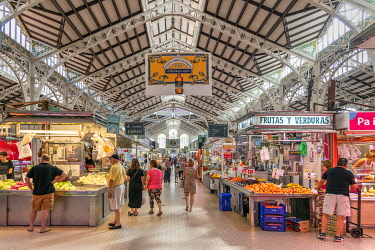 SPA9403AW Mercado Central covered market, Valencia, Comunidad Valenciana, Spain