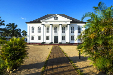 IBXRUN04874922 Neveh Shalom Synagogue, Unesco world heritage sight, Paramaribo, Suriname, South America
