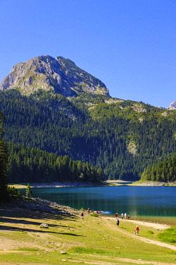 IBXMAN04825977 Black Lake, Crno jezero, Durmitor National Park, Zabljak Province, Montenegro, Europe