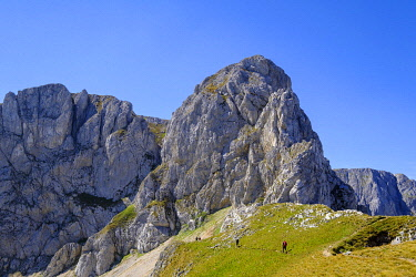 IBXMAN04826026 Sljeme Mountain, Durmitor Massif, Durmitor National Park, near Zabljak, Montenegro, Europe