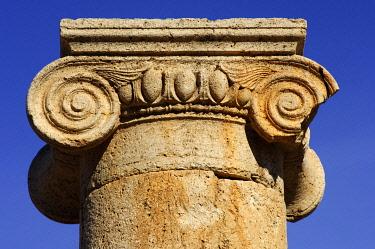 IBXGUF00055943 Ionic capital Leptis Magna Libya