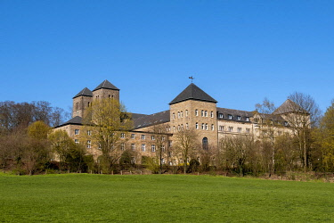 IBXANN04881311 Benedictine Abbey Gerleve, Billerbeck, MÃÂ�nsterland, North Rhine-Westphalia, Germany, Europe