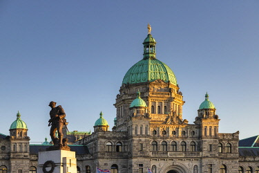 CA129RF Canada, British Columbia, Victoria, The Parliament