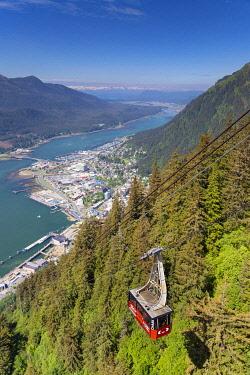 US984RF USA, Alaska, Juneau, Mount Roberts Tramway