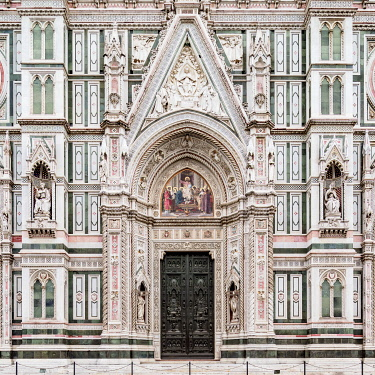 ITA14128AW Santa Maria del Fiore Cathedral, detailed view, Florence, Tuscany, Italy