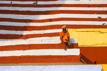 IN08496 India, Uttar Pradesh, Varanasi, Southern Ghats