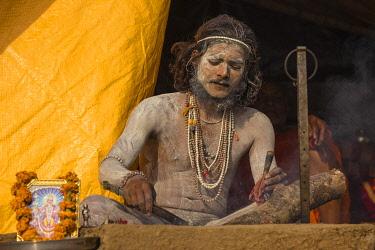 IN08518 India, Uttar Pradesh, Varanasi, Southern Ghats