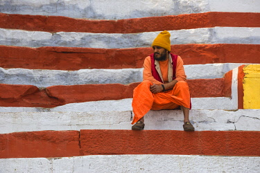 IN08529 India, Uttar Pradesh, Varanasi, Southern Ghats