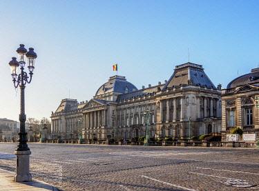 BEL1880AW Royal Palace of Brussels, Belgium