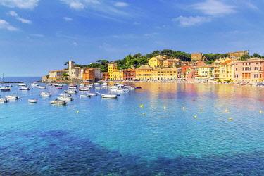 ITA14376AW Bay of silence, Sestri Levante, Liguria, Italy, Europe