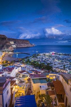 ES09463 Spain, Canary Islands, Gran Canaria Island, Puerto de Mogan