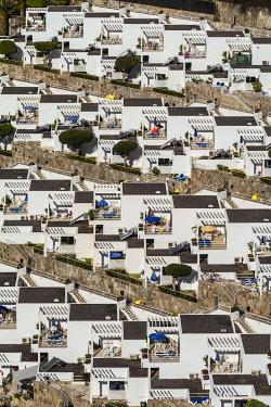 ES09468 Spain, Canary Islands, Gran Canaria Island, Puerto Rico, resort high angle view