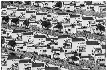 ES09471 Spain, Canary Islands, Gran Canaria Island, Puerto Rico, resort high angle view