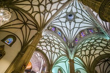 ES09522 Spain, Canary Islands, Gran Canaria Island,  Las Palmas de Gran Canaria, Catedral de Santa Ana, interior