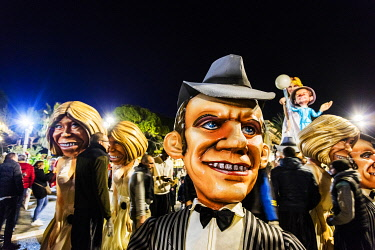 FRA11517 France. French Riviera. Nice. The Carnival of Nice.