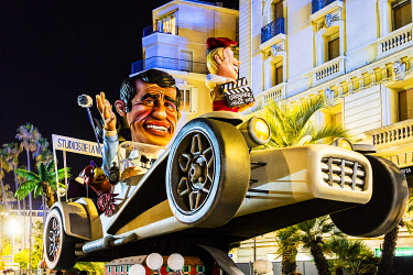 FRA11521 France. French Riviera. Nice. The Carnival of Nice.
