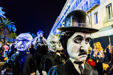 FRA11523 France. French Riviera. Nice. The Carnival of Nice.