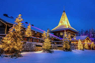 CLKMG111843 Santa Claus village, Rovaniemi, Lapland, Finland