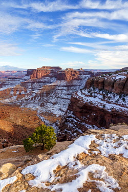 CLKAB110527 Shafer Canyon Overlook, Canyonlands National Park, Moab, Utah, USA