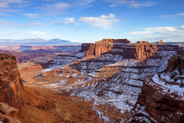 CLKAB110533 Shafer Canyon Overlook, Canyonlands National Park, Moab, Utah, USA