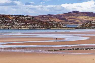 SCO35379 United Kingdom, Scotland, Wester Ross, Low tide at Gruinard Bay