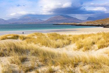 SCO35409 United Kingdom, Scotland, Outer Hebrides, Isle of Harris, Luskentyre Beach
