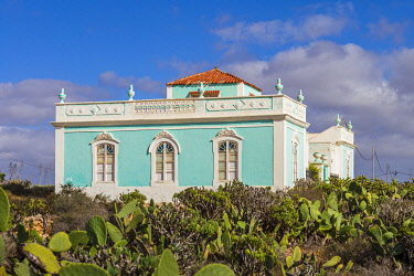 ES09580 Spain, Canary Islands, Fuerteventura Island,  Antigua, traditional island mansion house