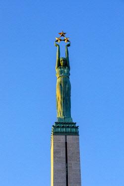 LV022RF The Freedom Monument, Riga, Latvia
