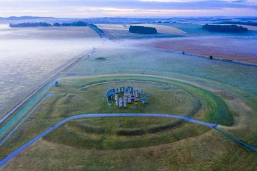 UK08578 Stonehenge, Salisbury Plain, Wiltshire, England