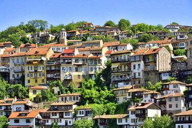 BUL410AWRF The old town, Varosha, of Veliko Tarnovo. Bulgaria