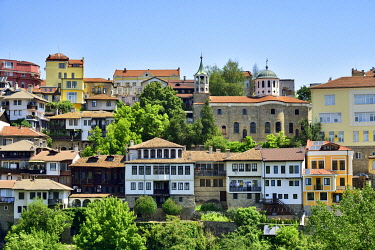 BUL336AW The old town, Varosha, of Veliko Tarnovo. Bulgaria