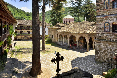 BUL400AW Troyan Monastery (Monastery of the Dormition of the Most Holy Mother of God) is the third largest monastery in Bulgaria. It is located in the Balkan mountains and was founded in the 16th century. The...