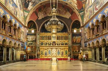 ROM1627AW Holy Trinity Orthodox Cathedral (Catedrala Sfanta Treime). Sibiu, Transylvania. Romania
