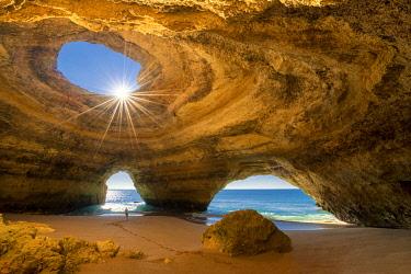 POR10760AW Benagil Cave, Lagoa, Algarve, Portugal