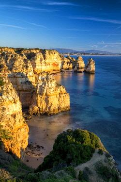 POR10762AW Coastline at Ponta da Piedade, Algarve, Portugal
