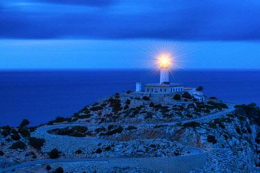SPA9521AW Lighthouse at Cap de Formentor, Mallorca, Balearics, Spain