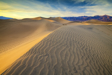 USA14678AW Mesquite Dunes, Death Valley National Park, California, USA