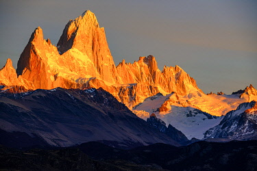 SA01GTH0006 Argentina, Patagonia. El Chalten, Fitz Roy