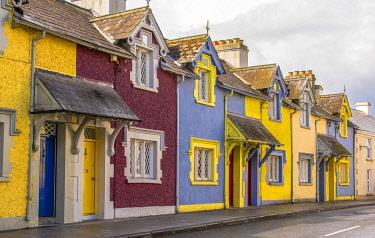 EU15GTH0005 Ireland, Trim. Houses on street.