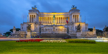 IT01960 Italy, Lazio, Rome, Vittorio Emanuele II Monument, Altare della Patria