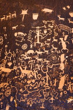US45RBS0075 Petroglyphs at Newspaper Rock State Park, Utah