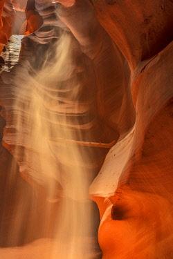 US03CHA0226 Sunbeam in Upper Antelope Canyon near Page, Arizona, USA