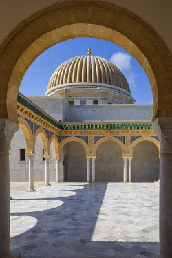TU099RF Tunisia, Monastir, Bourguiba mausoleum