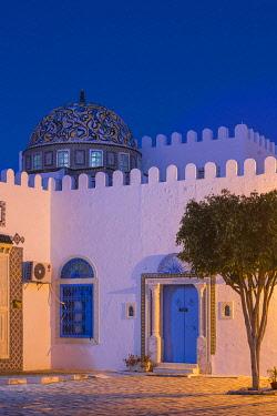 TU118RF Tunisia, Kairouan, Madina, Dome on the terrace roof of a cosmetic shop