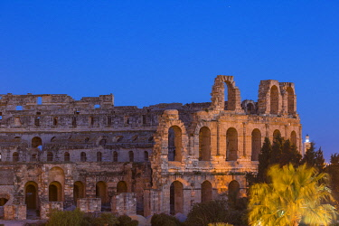 TU02104 Tunisia, El Jem, Roman Amphitheatre