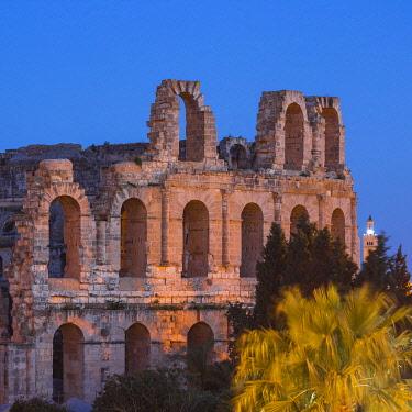 TU02105 Tunisia, El Jem, Roman Amphitheatre